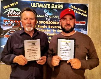 Brian & Brandon Hammond 4th UBTT TOC 19.51 lbs