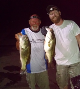 Cline & Baker 1st at Sand Hollow 21.86 lbs.