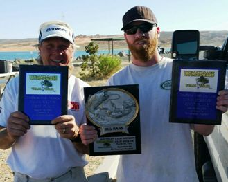 Huston & Baker 1st at Sand Hollow 15.29 lbs.