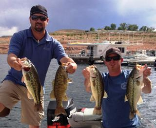 Hammond and Talbot 2nd at Powell 16.29lbs 5/2/15