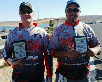 Johnson & Myers 2nd at Sand Hollow 12.08 lbs.
